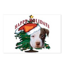 pit bull pups Postcards (Package of 8)