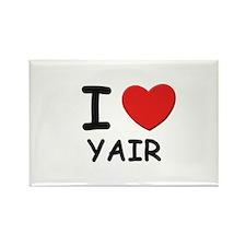 I love Yair Rectangle Magnet
