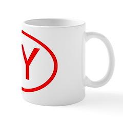 NY Oval - New York Mug