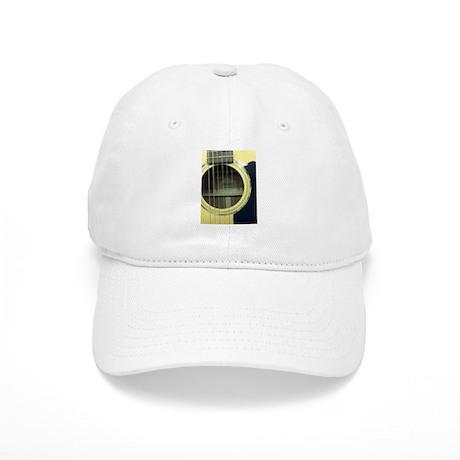 Guitar Sound Hole Baseball Cap