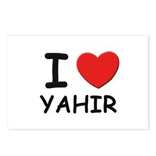 I love Yahir Postcards (Package of 8)