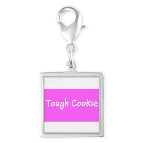 Tough Cookie Breast Cancer Pink Designer Charms
