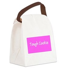 Tough Cookie Breast Cancer Pink Designer Canvas Lu