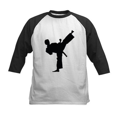 CafePress  - Karate Baseball Jersey