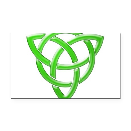 Celtic Knot Rectangle Car Magnet by CustomFunnyAndCoolGifts