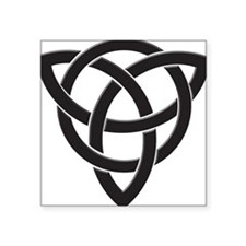 Celtic Knot Design Sticker