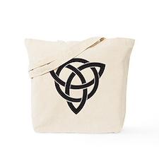 Celtic Knot Design Tote Bag