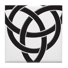 Celtic Knot Design Tile Coaster