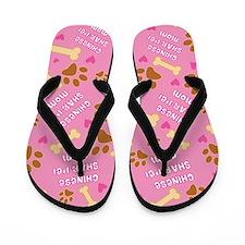 Chinese Shar-Pei Mom Gift Flip Flops
