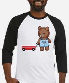 Boy Teddy Bear Baseball Jersey
