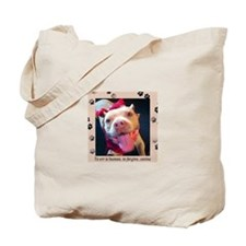 To err is human, to forgive, canine. Tote Bag
