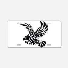 Tribal Eagle Aluminum License Plate