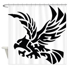 Tribal Eagle Shower Curtain