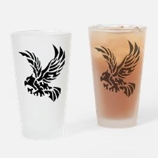 Tribal Eagle Drinking Glass