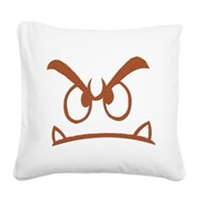 Baddy Square Canvas Pillow