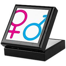 Female and Male Keepsake Box