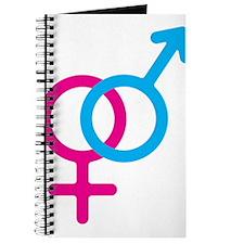 Female/Male Symbol Journal