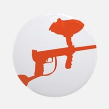 Paintball Gun Ornament (Round)