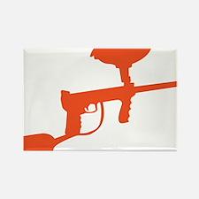 Paintball Gun Rectangle Magnet