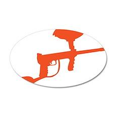 Paintball Gun Wall Decal