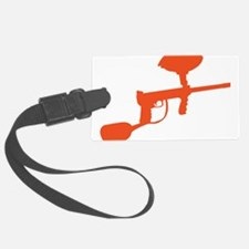 Paintball Gun Luggage Tag