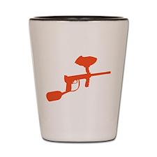 Paintball Gun Shot Glass