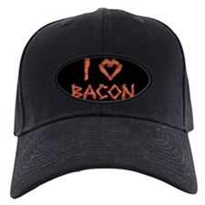 I Love Bacon Baseball Hat