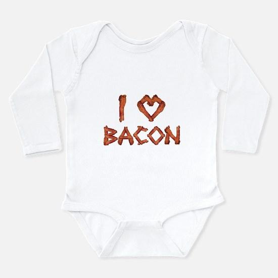 I Love Bacon Body Suit