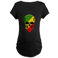 congoskull copy.png Maternity T-Shirt