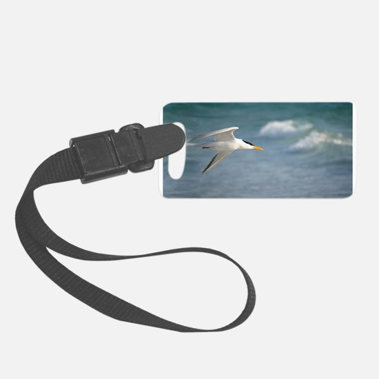Flight of royal tern Luggage Tag