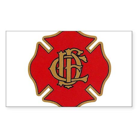 Chicago Fire Sticker