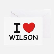 I love Wilson Greeting Cards (Pk of 10)