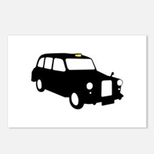 London Taxi Postcards (Package of 8)