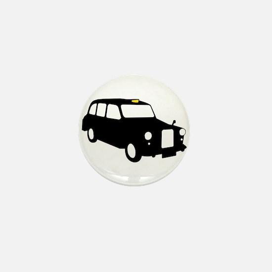 London Taxi Mini Button