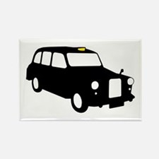 London Taxi Rectangle Magnet