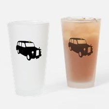 London Taxi Drinking Glass