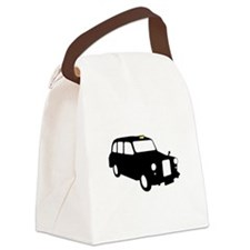 London Taxi Canvas Lunch Bag