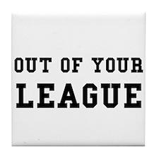 Out Of League Tile Coaster
