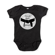 Martial Arts Black Belt 2015 Baby Bodysuit