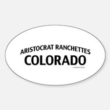 Aristocrat Ranchettes Colorado Decal