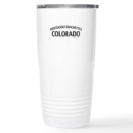 Aristocrat Ranchettes Colorado Travel Mug