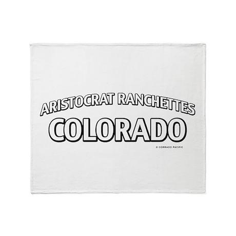 Aristocrat Ranchettes Colorado Throw Blanket