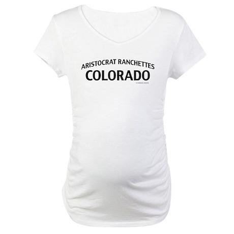 Aristocrat Ranchettes Colorado Maternity T-Shirt