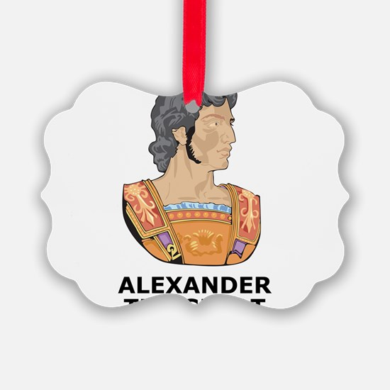 Alexander The Great Ornament