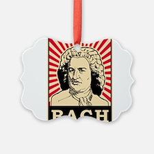 Pop Art Bach Ornament