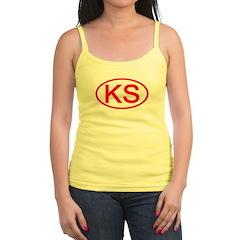 KS Oval - Kansas Jr.Spaghetti Strap