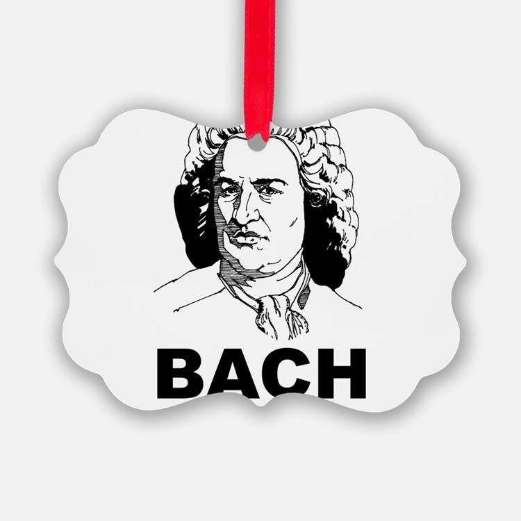 Bach Is My Homeboy Ornament