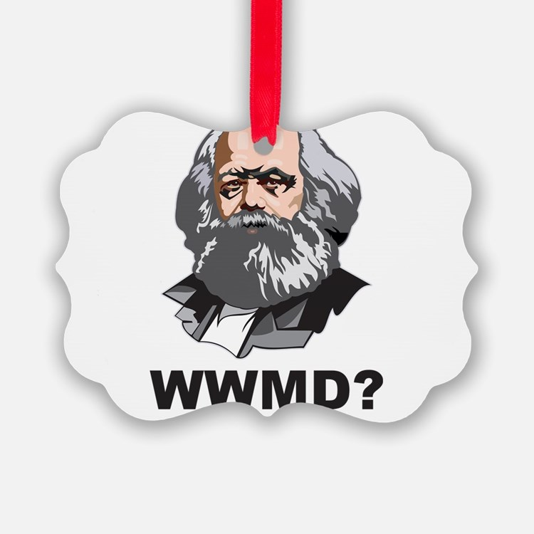 What Would Marx Do Ornament