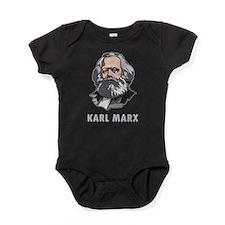 Karl Marx Baby Bodysuit