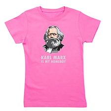 Karl Marx Is My Homeboy Girl's Tee